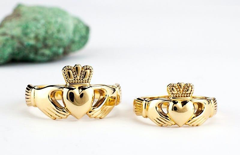 inel de aur traditional celtic