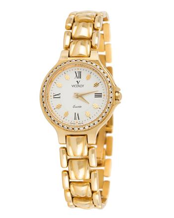 Ceas Viceroy din aur masiv de 18k cu diamante naturale