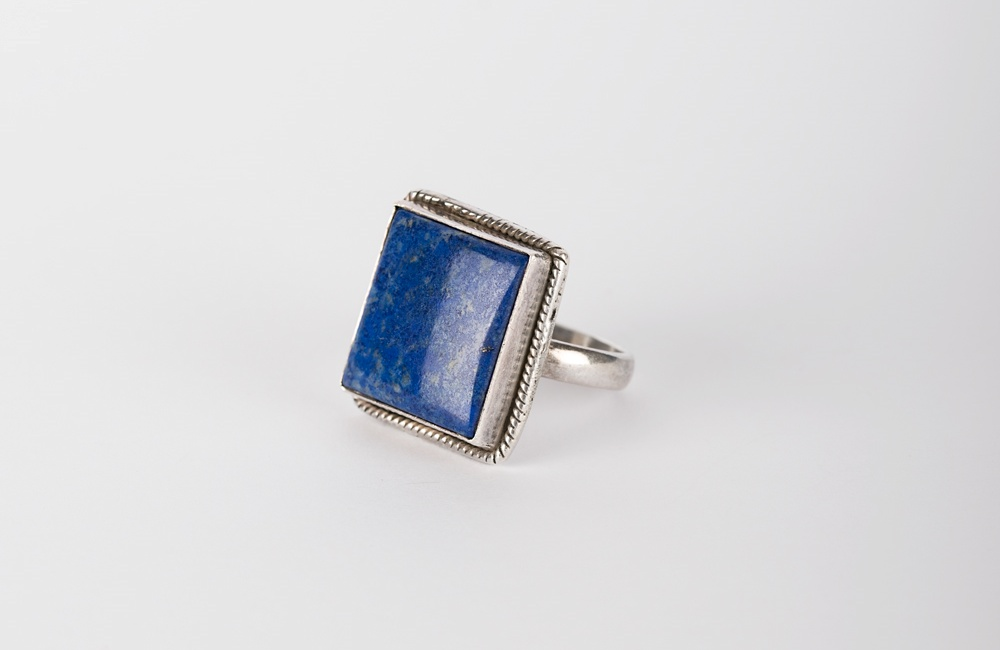 inel - bijuterii cu lapis lazuli
